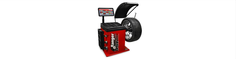 Balanceadora de ruedas para autos